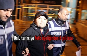 Talha Uğurluel'e FETÖ üyeliğinden 6 yıl 3 ay hapis cezası