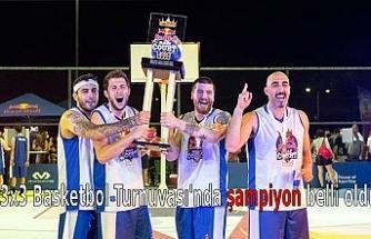 3x3 Basketbol Turnuvası'nda şampiyon belli oldu