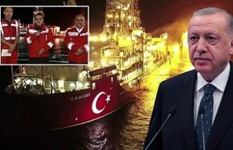 Erdoğan: Keşfettiğimiz gazın değerini düşürmeye çalışanlar, yanan ateşe iyi baksınlar