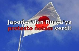 Japonya'dan Rusya'ya protesto notası verdi!