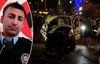 İhbara giden polis aracı otomobille çarpıştı: 1 şehit, 4 yaralı