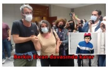 Berkin Elvan davasında polis memuruna 16 yıl 8 ay hapis cezası