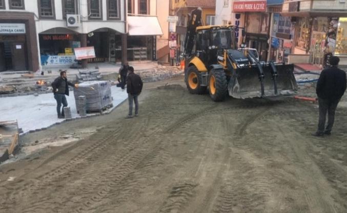 Artvin'de belediye kısıtlamayı fırsata çevirdi, alt yapı çalışmalarını tamamladı