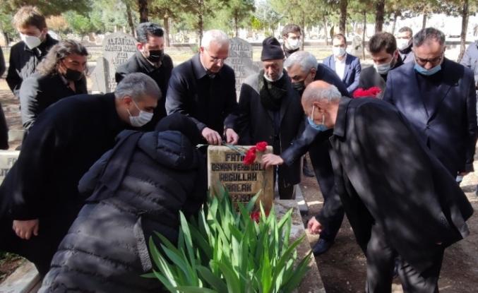 Şanlıurfalı Bestekar Abdullah Balak mezarı başında anıldı
