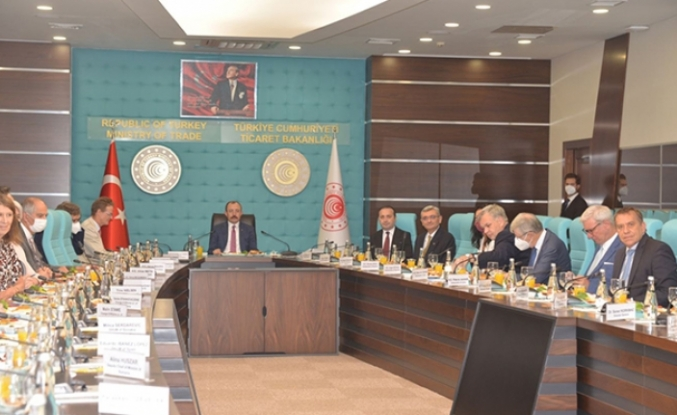 Bakan Muş'tan, AB üyesi ülkelerin büyükelçilerine 'pozitif gündem' vurgusu