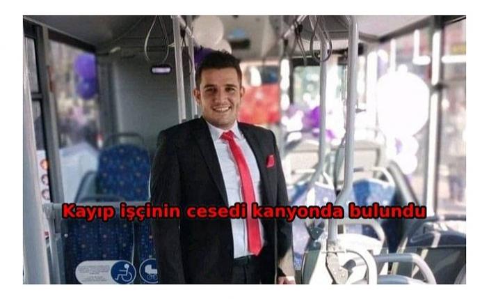 3 gündür kayıp olan belediye işçisinin derede cesedi bulundu