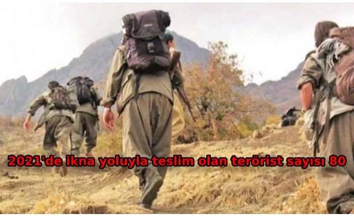 İçişleri: 1 PKK'lı terörist daha teslim oldu