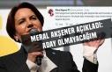 Meral Akşener iddiaları kabul etti! İYİ Parti'de...