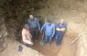 Bursa'da kazıdıkları çukurda yakalandılar
