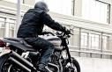 Motosiklet sürücüsüne 'emniyet kemeri'...