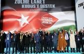 Yenikapı'daki Kudüs mitingine kimler katıldı