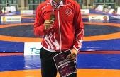 Güreşte Avrupa şampiyonu Büyükşehir'den çıktı
