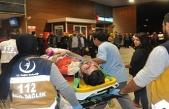 Bursa'da ormana uçan araçta can pazarı: 5 yaralı