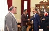 Azeri işadamından Başkan Aktaş'a ziyaret