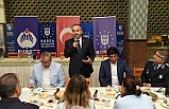 Zabıta teşkilatı yeni yaşını Başkan Alinur Aktaş ile kutladı