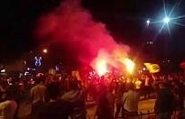 Bursa'da Galatasaray'ın şampiyonluk kutlamaları