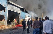 Bursa'da korkutan yangın kontrol altına alındı