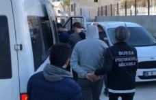 Bursa'da uyuşturucu operasyonu: 5 kişiye gözaltı