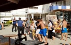 Bursa'da korkunç kavga! Sopalar, sandalyeler havada uçuştu