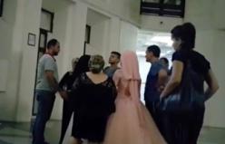 Bursa'da düğün konvoyuna polis baskını