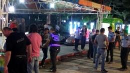 Bursa'da lunaparka polis baskını