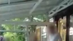 Adnan Oktar'ın villasına baskın anı polis kamerasında