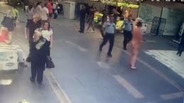 İstanbul'da dehşet saçan ve polise saldıran çıplak adam