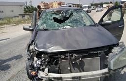 Otomobil ile çarpışan motosiklet sürücüsü hayatını kaybetti