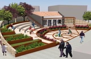 Osmangazi'den Dağakça'ya meydan ve hizmet binası