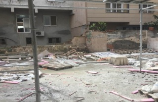 Bursa'da bir inşaat işçisinin acı ölümü