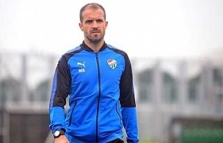 Bursaspor'un yeni hocası Er, farklı galibiyeti...