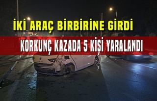 Bursa'da kaza! Kaza sonrası elektrikler kesildi,...