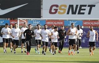 Galatasaray'da Akhisarspor maçı hazırlıkları...