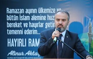 Başkan Aktaş Yenişehirlilerle iftarda bir araya...