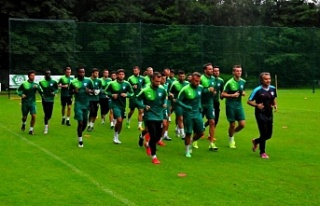 Bursaspor'un kamp rotası belli oldu