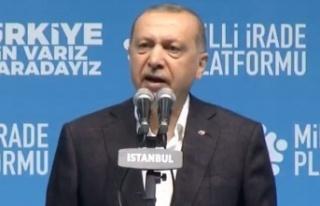 Cumhurbaşkanı Erdoğan: Milletvekilimizin abisi...