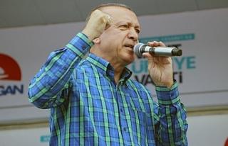 """Cumhurbaşkanı Erdoğan: """"Biz yapıyoruz muahlefet..."""