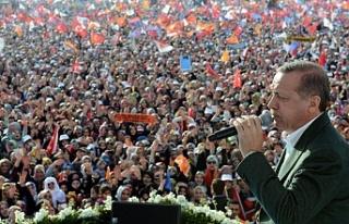 Cumhurbaşkanı Erdoğan'dan 'prompter'...