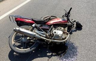 Yine bir motosiklet kazası... 1 ölü