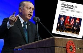 Başkan Erdoğan : ''Saygısızlık trendleri...