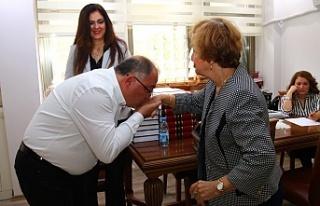 Başkan Salman'a sürpriz
