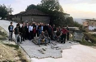 Bursa'da parke taşı sevinci