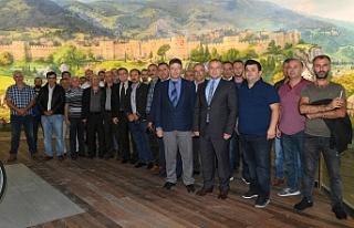 Bursa'da taksicilerin 'Panorama 1326' durağı