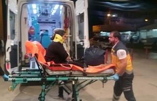 Bursa'da akılalmaz kaza! Kadın ölümden döndü