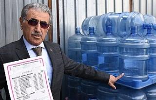 Su satışlarında tavan fiyatlar belirlendi