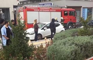Bursa'da çocuk parkında patlama