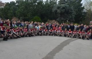 Bursa'daki öğrencilerden Afrin'deki Mehmetçiğe...