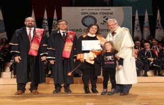 Uludağ Üniversitesi'nden 200 bin mezun