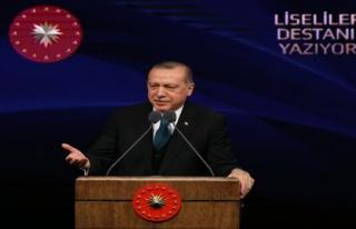 Cumhurbaşkanı Erdoğan: 'Artık her şey an meselesi'