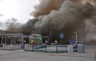 Bursa'da lunaparkta yangın dehşeti: 1kişi hayatını...